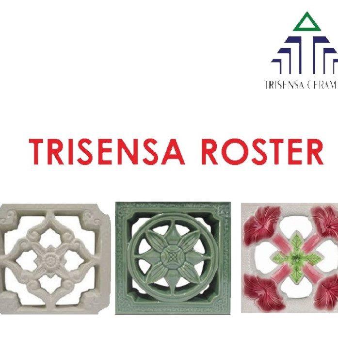 #roster #rosterkeramik #hiasandinding #rosterlukis #tempatsabun. #ceramics trisensa