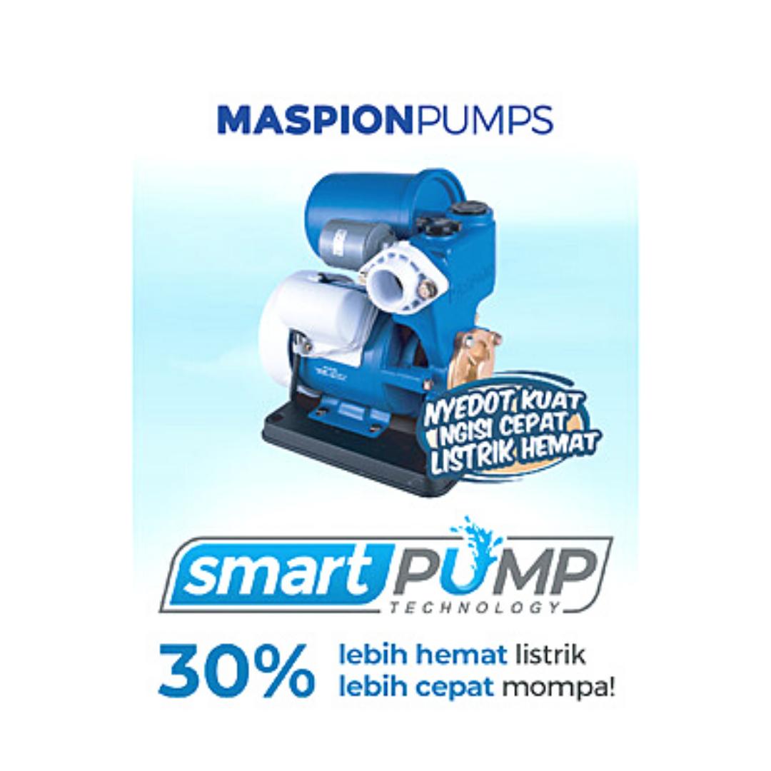 #SmartPump Technology #MaspionPumps #NyedotKuat #NgisiCepat #ListrikHemat #Maspion #MaspionElectronics #pompaair #pompa #pompasurabaya #pompamanual #pompaotomatis #pompaairmaspion #pompasumurdangkal